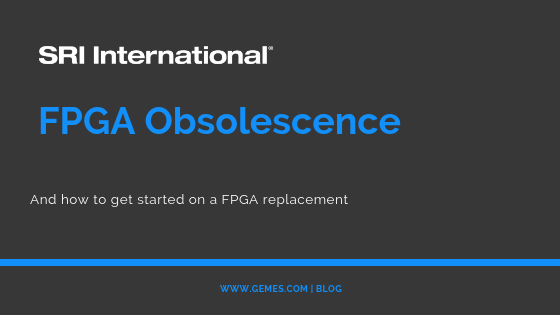 FPGA Obsolescence Solutions