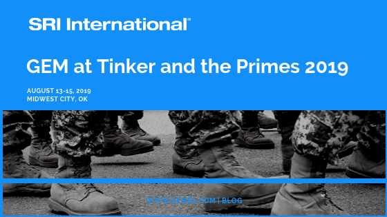 SRI International at Tinker & the Primes 2019